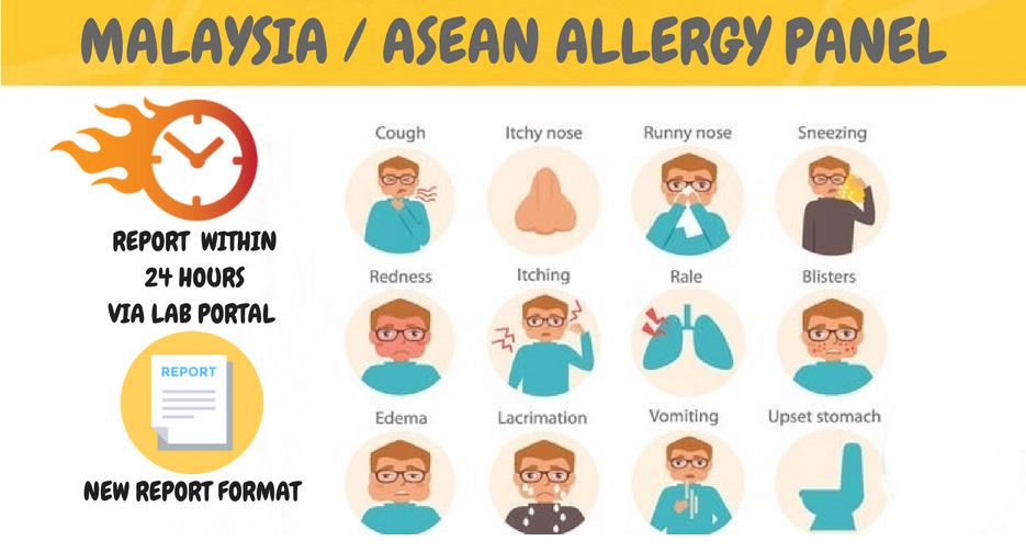 Malaysia / ASEAN Allergy Panel - Quantum Diagnostics